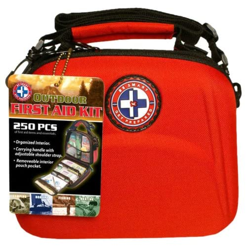 the first aid kits on this page are by tri and available to you at most of your major chain stores and we have field tested a few of these