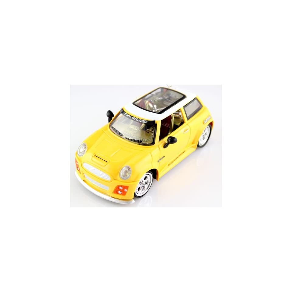 RC Mini Cooper Full Fuction 120 Scale Remote Control Car
