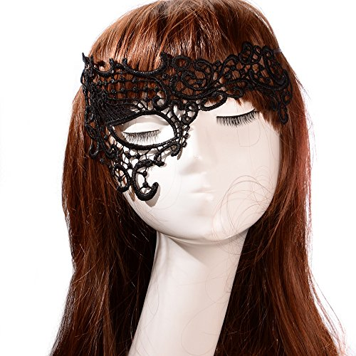 JY Jewelry Sex Lace Stunning Venetian Masquerade Halloween Fancy Dress Party Eye Mask