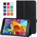 MoKo Samsung Galaxy Tab 4 8.0 Case - Slim Folding Cover Case for Samsung Galaxy Tab 4 8.0 Inch Tablet, BLACK (With Smart Cover Auto Wake / Sleep. WILL NOT Fit Samsung Galaxy Tab 3 8.0)