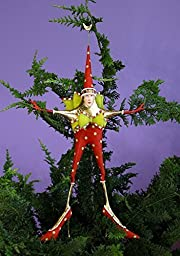 Patience Brewster Stella Star Woman Tree Topper 08-30888 by Patience Brewster
