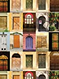 Tuscan Doors Spiral Notebook (Spank Stationery)