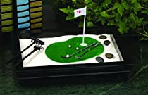 Clubhouse Collection 19th Hole Golf Zen Garden, Black