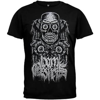 Born Of Osiris - Mens Faces Of Death T-shirt Small Black