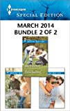 Harlequin Special Edition March 2014 - Bundle 2 of 2: The Daddy Secret\Finding Family...and Forever?\The One Hes Been Looking For