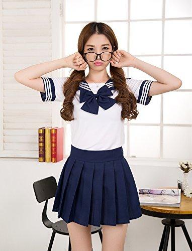 EQLEF® Japan Schuluniform-Kleid Cosplay Anime-Mädchen-Dame Lolita Kleid