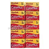 20 Rullini Kodak Color Plus 35mm 200/36 - Conf. da 20 pz. - Pellicola - Rullino - Fotografia