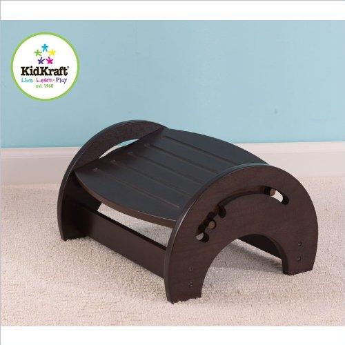 Kidkraft Adjustable Stool For Nursing - Espresso front-687917