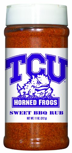 15 Pack Tcu Horned Frogs Sweet BBQ Rub