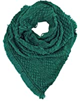 Luxury Divas Triangle Knit Infinity Scarf