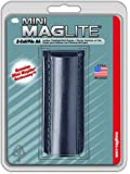 Maglite AM2A026 Plain Leather Holster for AA Mini, Black