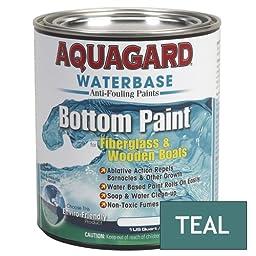 1 - Aquagard Waterbased Anti-Fouling Bottom Paint - 1Qt - Teal