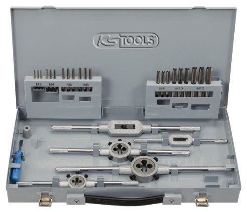 KS-Tools-3310744-HSS-Co-Gewindeschneidwerkzeug-Satz-in-Industriekassette-44-teilig