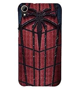Printvisa Spider Man Web Back Case Cover for HTC Desire 828