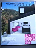 Architectural Record Houses 2012 April 2012 Issue