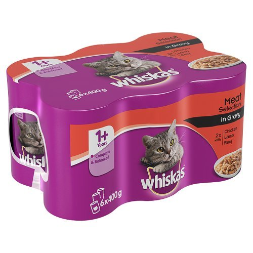 whiskas-1-years-cat-food-cans-meat-selection-in-gravy-6-x-400g