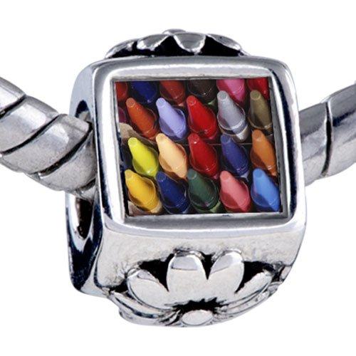 Pugster Crayons Children Beads - Biagi Bead & Bracelet Compatible