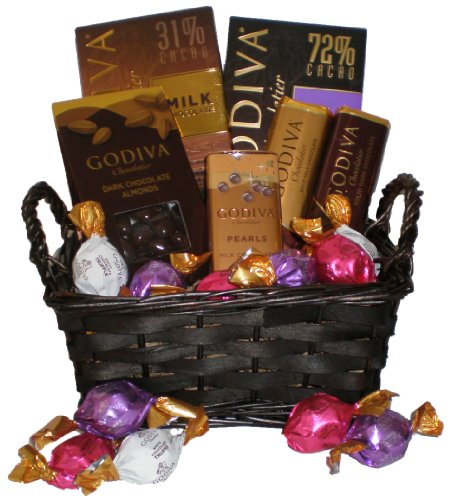 Godiva Assorted Chocolate Gift Basket-small