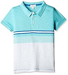 Pumpkin Patch Boys' Polo (S5TB11040_Blaze Multicolor_6)