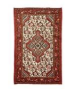 Eden Carpets Alfombra Mossul Rojo/Beige 126 x 76 cm
