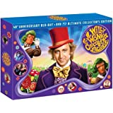 Willy Wonka & the Chocolate Factory (Three-Disc 40th Anniversary Collector's Edition Blu-ray/DVD Combo) by Warner Home Video