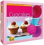 Cupcakes-Set: Mit 12 Silikonbackförmchen (GU Buch plus)