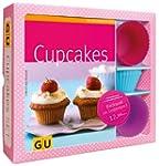 Cupcakes-Set: Mit 12 Silikonbackf�rmc...