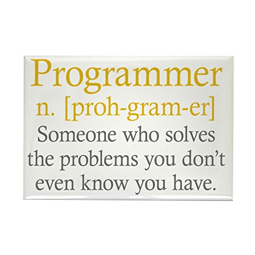 CafePress - Programmer Definition - Rectangle Magnet, 2