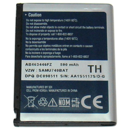 Click to buy GENUINE OEM SAMSUNG AB463446FZ BATTERY FOR SCH U740 - From only $49.99