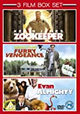 Furry Vengeance (2010) / Zookeeper (2011) / Evan Almighty (2007) - Triple Pack [DVD]