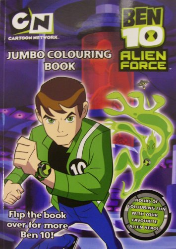 Double Ben 10: Ben 10 and Ben 10 Alien Force Jumbo Colouring Book