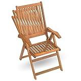 9-tlg-Holz-Sitzgarnitur-Sitzgruppe-Gartenmbel-Set-Holzmbel-Essgarnitur-Akazie-gelt-8x-verstellbarer-Klappstuhl-1x-ausziehbarer-Klapptisch
