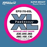 515pcQb0%2BDL. SL160  DAddario EPS170 6SL 6 String ProSteels Bass Guitar Strings, Light, 30 130, Super Long Scale
