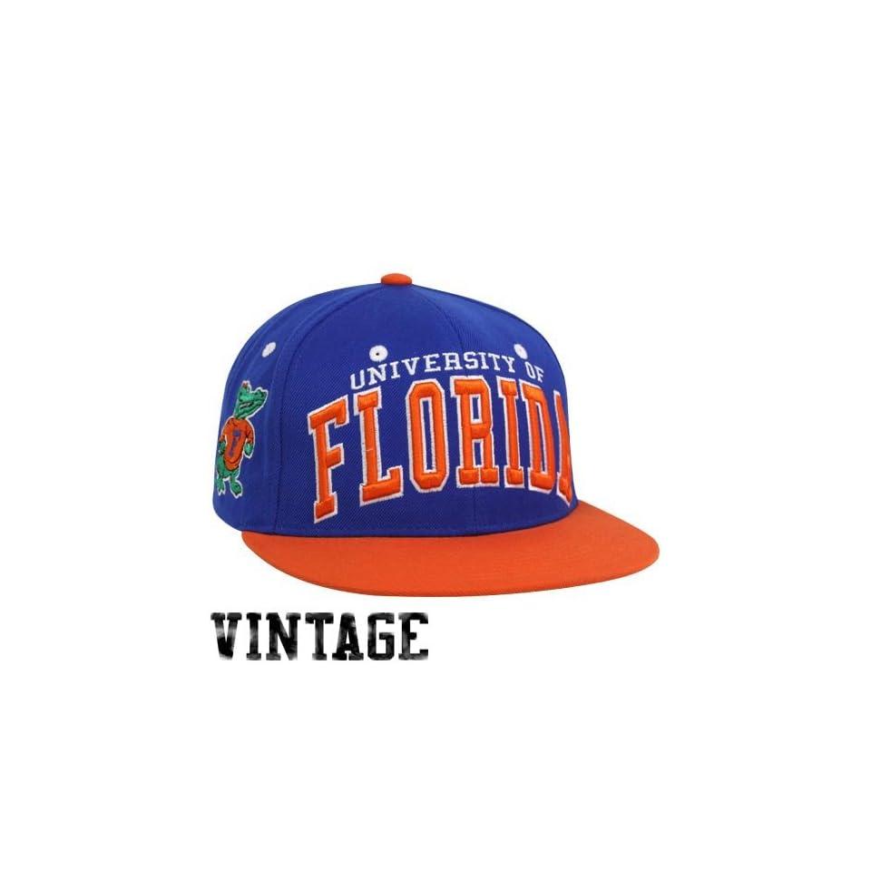 NCAA Zephyr Florida Gators Royal Blue Orange Superstar Snapback