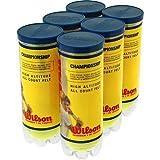Wilson Tennis Balls T1002 3-Pack Championship High-Altitude Tennis Balls - Quantity 1, 1/
