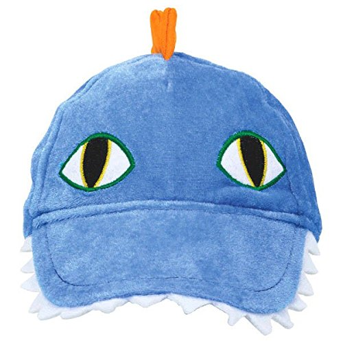"Dashing Prehistoric/Dinosaur Deluxe Fabric Hat Birthday Party Favors, 6 x 10"", Blue"