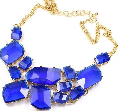 Wiipu Freeform bubble Bib Necklace Statement Fashion Necklace(wp-14)