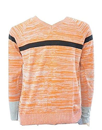 Armani Exchange -  Maglione  - Uomo arancione Large