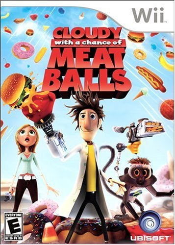 Cloudy With A Chance Of Meatballs - Nintendo Wii front-308807