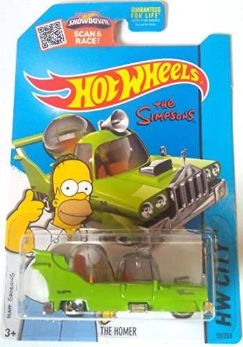 Hot Wheels, 2015 HW City, The Simpsons The Homer Die-Cast Vehicle #58/250