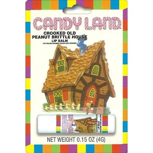 Amazon.com : Candyland Crooked Old Peanut Brittle House Lip Balm : Lip