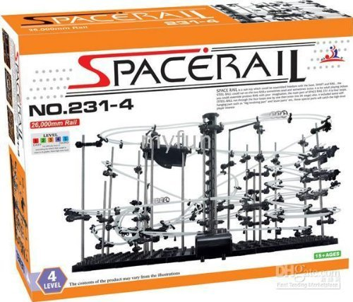 Spacerail /Spacewarp Level 4/Spacerail Level 4-Roller Coster - 80ft track - The most popular level