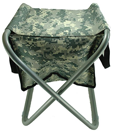 Durable Portable Folding Camp Stool  18 Can Cooler.