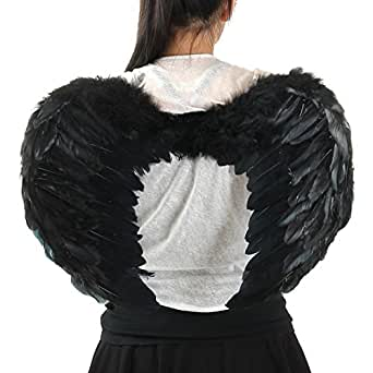Sunonyesla® 24*18 Inch Costume Feather Angel Wings