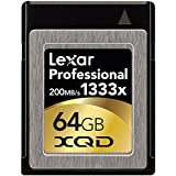 Lexar Professional 64GB 1333x Speed (200MB/s) XQD Flash Memory Card