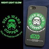 STAR BUCKS×STAR WARS special collaboration iPhone5s・5 ハードケース スターバックス×スターウォーズ 夜光model (ブラック・グリーン)
