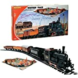 MEHANO TRAIN LINE - HO Scale Train Set With Scenic Layout - REGULAR, Western Train