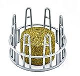 Schleich Futtersilo mit Heuraufe und Fleckvieh-Kalb 3er Set 41429, 41421, 13802 Farm Life -