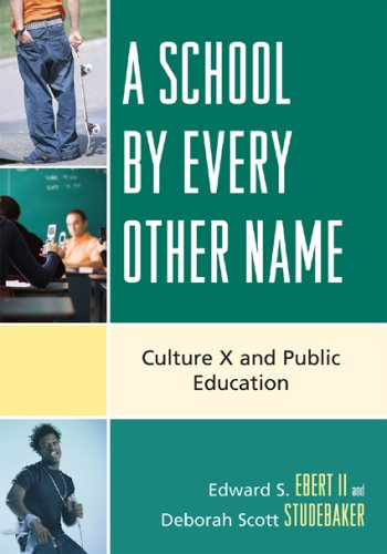 A School by Every Other Name: Culture X and Public Education