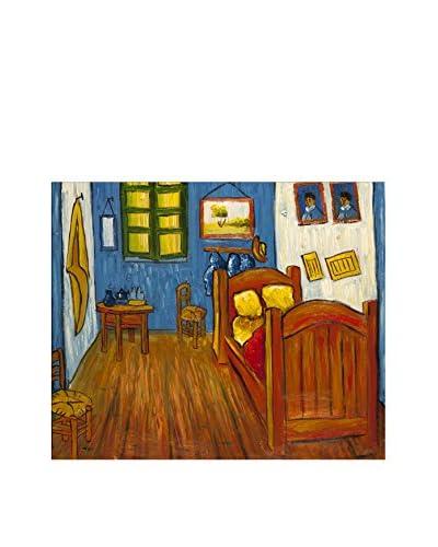 Arte Dal Mondo Pintura al Óleo sobre Linezo Van Gogh Camera Da Letto Ad Arles